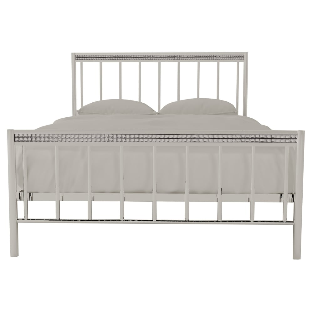 AXE BD56 (1) Bed Frame( Chrome )