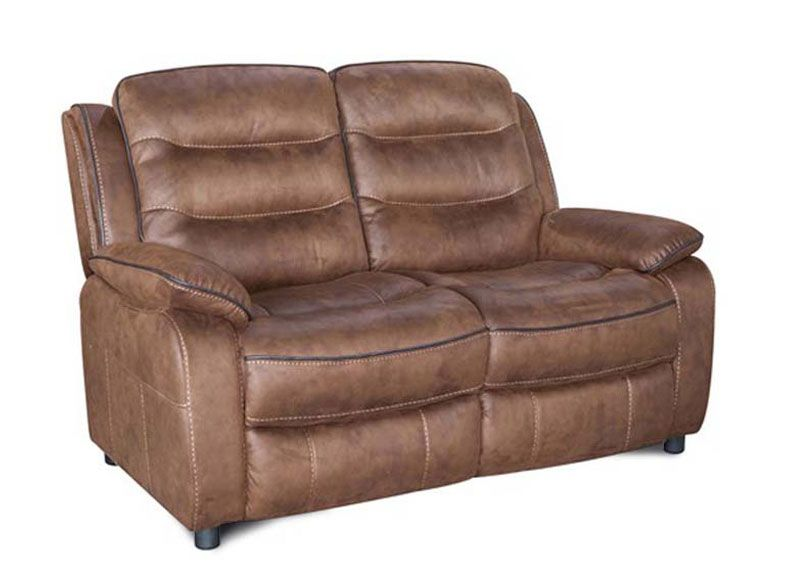 Home Essential KAD-113 - Brown nubuck  Sofa